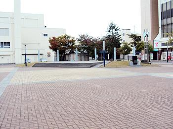 山形県 | 米沢市 | ポポロ広場(米沢市市民文化会館前広場) | やまがたバリアフリーMAP | 山形県ユニバーサルデザイン施設情報